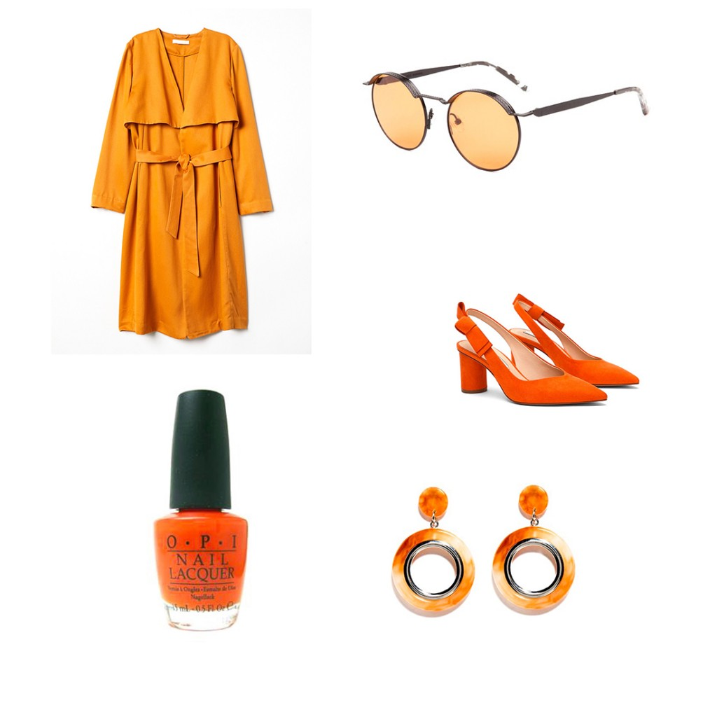 Color tendencia- Naranja